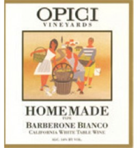 Opici Homemade Barberone Bianco 1.50l - Case of 6